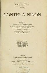 Émile Zola: Contes à Ninon