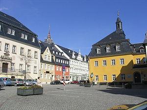 Zschopau - Market square
