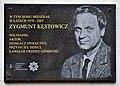 Zygmunt Kęstowicz tablica pamiątkowa ul. Komorska 8.jpg