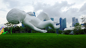 Marc Quinn - 'Planet' by Marc Quinn in Singapore