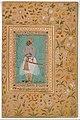 """Portrait of Maharaja Bhim Kanwar"", Folio from the Shah Jahan Album MET DT244223.jpg"