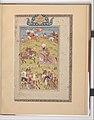 """Rustam Kills the Commander of the Dehz"", Folio from a Shahnama (Book of Kings) MET DP215867.jpg"