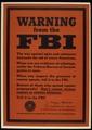 """WARNING FROM THE FBI"" - NARA - 516039.tif"