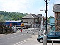 'Lion' on the level crossing at Grosmont - geograph.org.uk - 790399.jpg