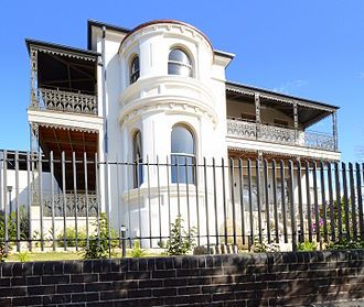 Tempe, New South Wales - Lymerston, built in 1843