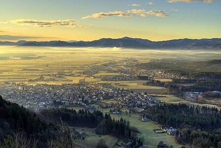 View from Šmarjetna Gora