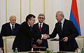 Υπογραφή από ΥΦΥΠΕΞ Κυρ. Γεροντόπουλο Συμφωνίας συνεργασίας στον γεωργικό τομέα μεταξύ Ελλάδος-Αρμενίας (Ερεβάν, 30.9.14) (15215088428).jpg