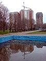 Вид от фонтанов на Селигерскую улицу - panoramio.jpg