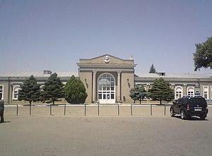 Budyonnovsk - Budyonovsk railway station