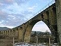 Ворохта. Великий кам'яний арочний залізничний міст-віадук через р. Прут, 130 м, 1895 р.jpg