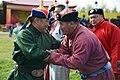 Глава Республики Тыва Шолбан Кара-оол и титулованный борец Республики Тыва Тюлюш Сайын-Белек.jpg
