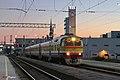ДР1А-291, Латвия, Рига, станция Рига-Пассажирская (Trainpix 211396).jpg