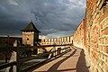 Замкові мури та Владича вежа Луцького замку.jpg