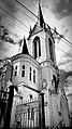 Лютеранська кірха в Луцьку (чорно-біле фото).jpg