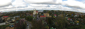 Hlybokaye - View of Glubokoye