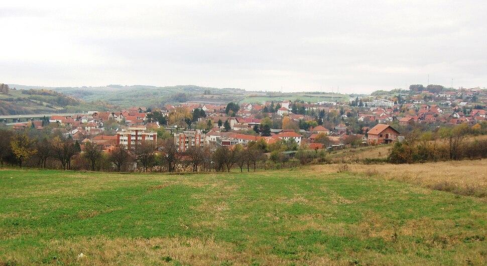 Панорама Ражња - The Panorama of Ražanj