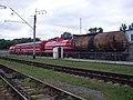 Пожарный поезд на станции Гречаны.jpg