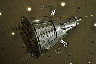 Soviet research satellite