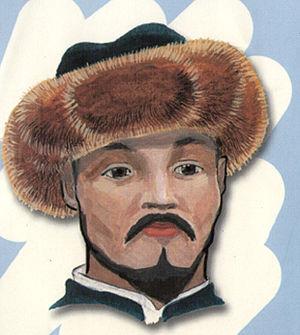 Tubeteika - A Kyrgyz tebetey