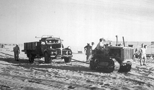 חטיבת הנגב - 1 - ישובי שער-הנגב - קיבוץ נירים - עליית 11 הנקודות בנגב-135571