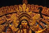 বি. ই. (পশ্চিম) ব্লক বিধান নগর দূর্গা পুজো ২০১৮ (মুখ্য দূর্গা প্রতিমার নিকট চিত্র).jpg