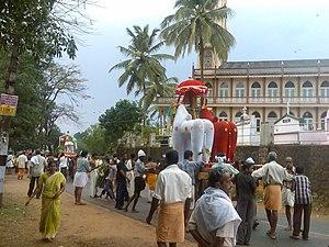Elanthoor - Bhagavathi Hill Festival