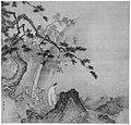 南宋 馬遠 高士觀瀑圖 冊頁 絹本-Scholar viewing a waterfall MET 200333.jpg