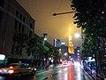 外苑東通り rainy night.jpg