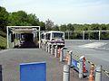 帝京大学八王子キャンパス構内バス停.JPG