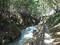 龍泉洞の前の谷川 - panoramio.jpg