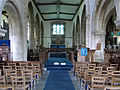 001 Stoke Rochford Ss Andrew & Mary, interior - chancel from the nave.jpg