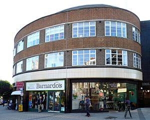 107–123 Muswell Hill Road - North end.
