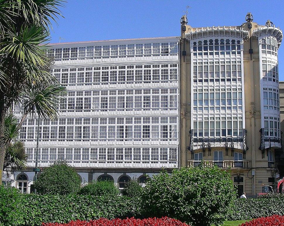 1094-Galerias (Coruña). Porta Real