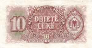 10 lekë de Albania en 1949 Reverse.png