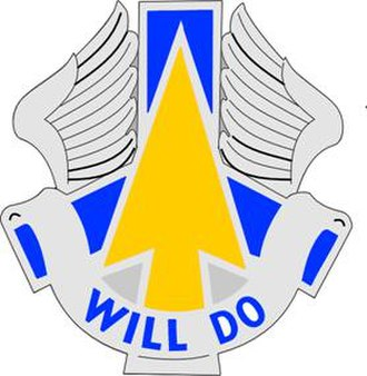 110th Aviation Brigade (United States) - Image: 110 Avn Bde DUI
