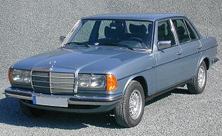 Mercedes-Benz W123 Motor vehicle