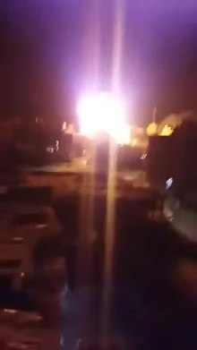 File:12 November 2018 Israeli shelling of Al-Aqsa TV in Gaza.webm