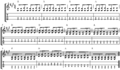 12 bar blues in A (using open strings for root notes).png