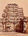 12th century Mahadeva temple, Itagi, Karnataka India - 1885 archival photo - 3.jpg