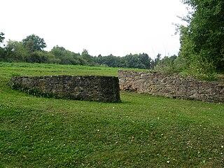 Büraburg castle ruin