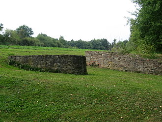 Büraburg - Büraburg, remains of a gate