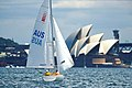 141100 - Sailing Australia 3 person keelboat action 9 - 3b - 2000 Sydney race photo.jpg