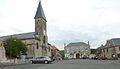 145 La Rochemillay La place du village.JPG