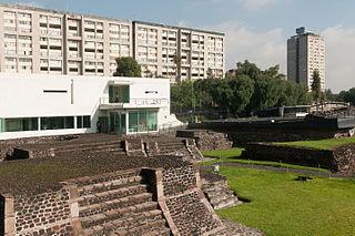 Plaza de las Tres Culturas Plaza in Mexico City