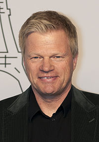 Oliver Kahn - the talented, tough,  football player  with German roots in 2017