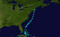 1851 Atlantic tropical storm 6 track.png