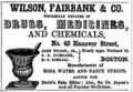 1851 Wilson BostonDirectory.png
