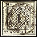 1851ca 1kr Württemberg Stuttgart Mi1b hellsämisch.jpg