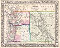 1864 Mitchell Map of Washington, Oregon and Idaho - Geographicus - WAORID-mitchell-1864.jpg