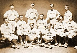 1874 Boston Red Stockings season - Team photograph